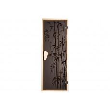 Дверь для бани и сауны Бамбуковый лес 1900 х 700