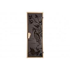 Дверь для бани и сауны Цапля 1900х700