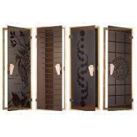Стеклянные двери с рисунком  (17)