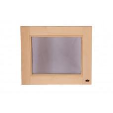 Окно для бани и сауны 600*500