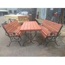 Комплект кованой садовой мебели