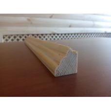 Багетная рейка сосна 23*20мм профиль № 5
